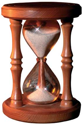 Hourglass for timely promotions | Promotional Products. ODM Group